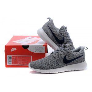 евтини nike roshe run мъжки обувки за бягане светло сиво черно продажба на изхода
