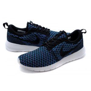 евтини nike roshe run мъжки обувки за бягане кралско синьо черно на едро