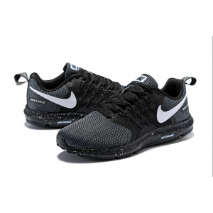евтини nike run swift мъжки обувки черно сиво изход