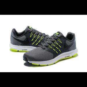 евтини nike run swift мъжки обувки сиви зелени на едро