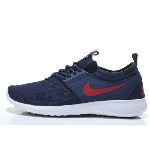 евтини nike zenji мъжки обувки за бягане тъмно синьо червено на едро
