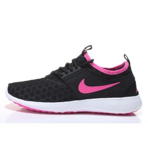 евтини nike zenji дамски обувки за бягане черна праскова за продажба