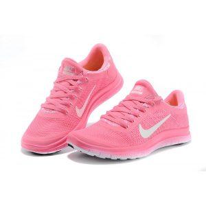 nike free 3.o v6 дамски обувки за бягане черно бяло на едро