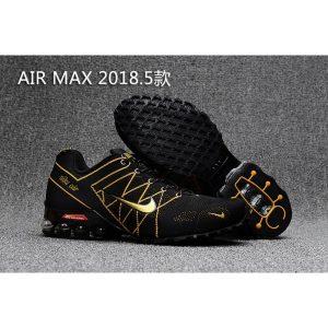 разпродажба nike air max 2018 мъжки обувки черно злато