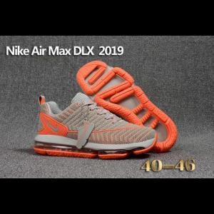 отстъпка nike air max dlx 2019 мъжки обувки сиво оранжево