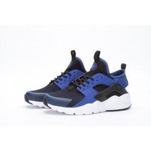 сваляне на nike air huarache iv 4 мъжки обувки за бягане черно бяло тъмно синьо