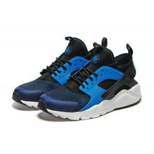 сваляне на nike air huarache iv 4 мъжки обувки за бягане тъмно синьо черно бяло