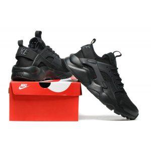 сваляне на nike air huarache iv 4 мъжки обувки за бягане черни