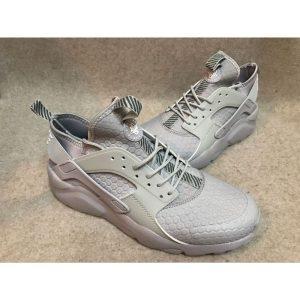 сваляне на nike air huarache iv 4 дамски обувки за бягане сребристи