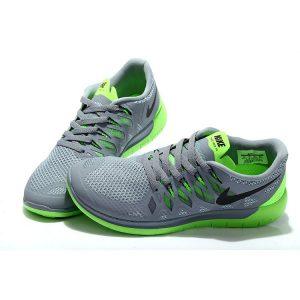 сваляне на nike free 5.0 мъжки обувки за бягане сиво флуоресцентно зелено