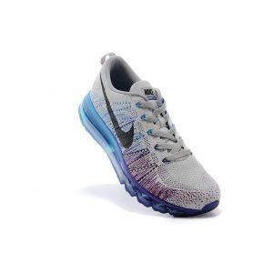 nike air max 2014 мъжки обувки за бягане сиво лилаво ярко синьо на едро