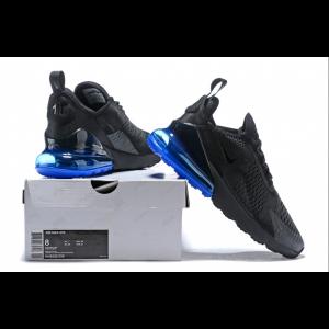 nike air max 270 мъжки обувки черно синьо на едро
