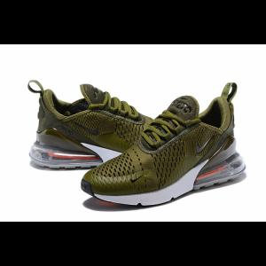 nike air max 270 мъжки обувки зелено сиво изход