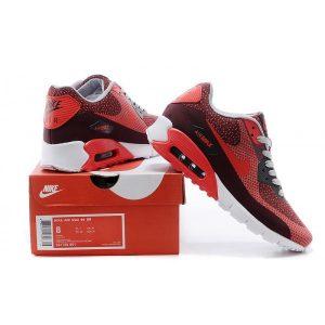 nike air max 90 мъжки обувки за бягане бордо червено на едро