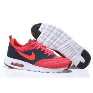 nike air max thea print 2 мъжки обувки за бягане черно червено бяло на едро