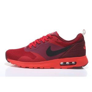 nike air max thea print 2 мъжки обувки за бягане черно червено на едро