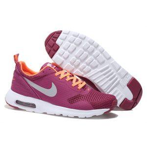 nike air max thea print 2 дамски обувки за бягане бордо оранжево разпродажба
