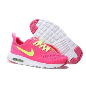 nike air max thea print 2 дамски обувки за бягане праскова флуоресцентно зелено на едро