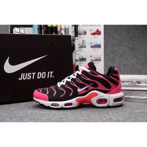 nike air max tn мъжки обувки черно бяло розово на едро