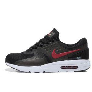 nike air max zero мъжки обувки за бягане черно червено на едро