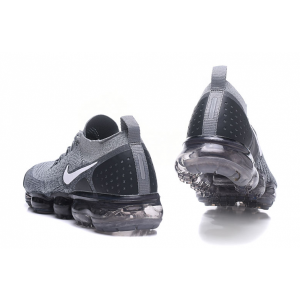 евтини nike air vapormax flyknit 2.0 мъжки обувки сив аутлет