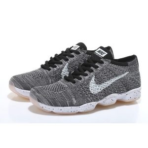 nike air zoom fit agility flyknit мъжки обувки за бягане черни бели сиви продажба