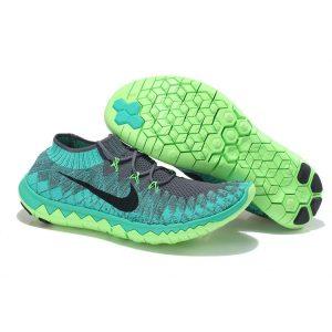 nike free 3.0 flyknit мъжки обувки за бягане тъмно сиво на едро