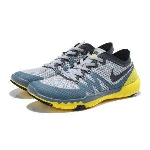 nike free 3.0 v3 flywire мъжки обувки за бягане черно сиво жълто на едро