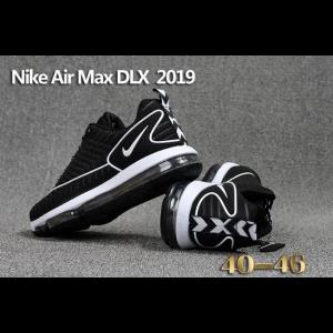 САЩ nike air max dlx 2019 мъжки обувки черно бяло