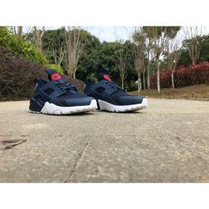 на едро nike air huarache iv 4 мъжки обувки за бягане светлоотразителни сини черни