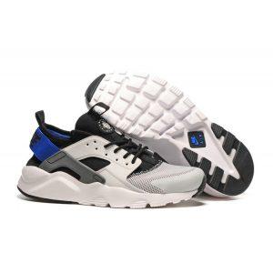 на едро nike air huarache iv 4 дамски обувки за бягане черно бяло синьо
