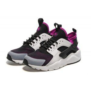 на едро nike air huarache iv 4 дамски обувки за бягане бели черни лилави