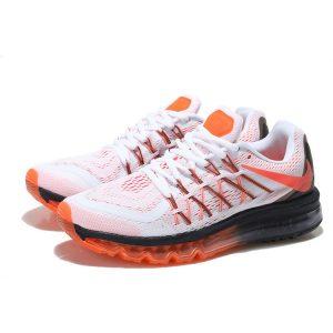 на едро nike air max 2015 мъжки обувки за бягане бяло оранжево