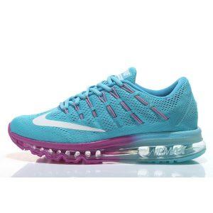на едро nike air max 2016 дамски обувки за бягане синьо лилаво