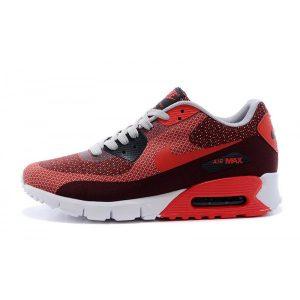 на едро nike air max 90 дамски обувки за бягане бордо червено