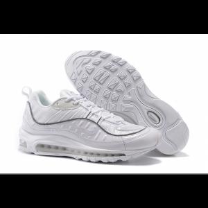 на едро nike air max 98 дамски обувки бели