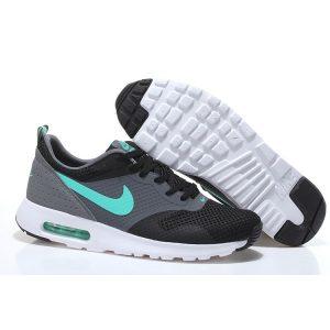 на едро nike air max thea print 2 мъжки обувки за бягане черно сиво синьо