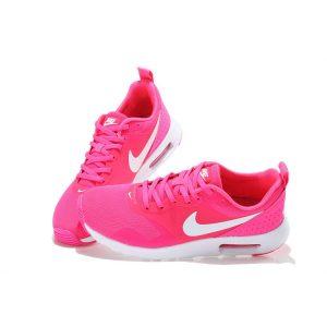 на едро nike air max thea print дамски обувки за бягане бяла праскова