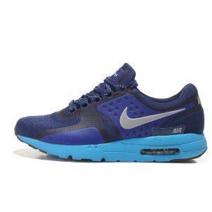на едро nike air max zero мъжки обувки за бягане сини черни сребърни