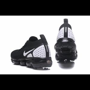 на едро nike air vapormax flyknit 2.0 мъжки обувки черно бяло