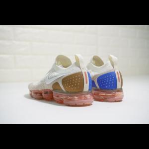на едро nike air vapormax flyknit 2.0 мъжки обувки бели кафяви сини