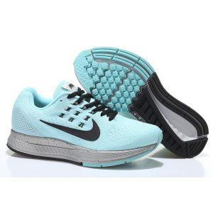 на едро nike air zoom structure 18 женски обувки за бягане черно синьо сребърно