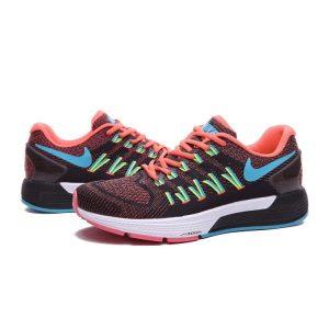 на едро nike air zoom structure 20 мъжки обувки за бягане оранж черно зелено