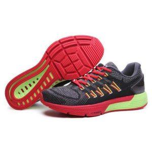 на едро nike air zoom structure 20 мъжки обувки за бягане червено черно зелено