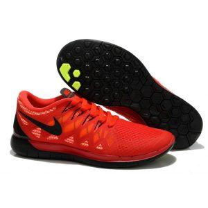 на едро nike free 5.0 дамски обувки за бягане черни червени