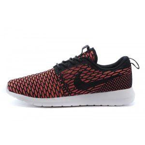 на едро nike roshe run мъжки обувки за бягане черно оранжево