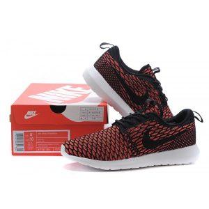 на едро nike roshe run дамски обувки за бягане черни червени